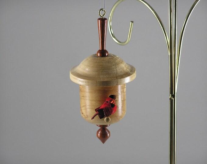 Birdhouse Christmas Ornament #8
