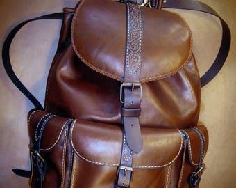 Tara backpack, Backpack, Leather backpack, Bag, Leather Bag, SteixnerLetherArt, Steixner, Handmade, Unique, Exclusive, Woman, Man