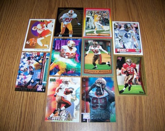 50 Tampa Bay Buccaneers Football Cards