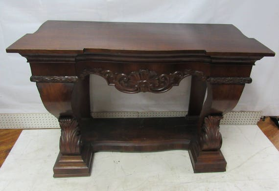 Victorian Console table Petticoat table