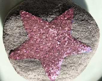 Glittery Super Star rock