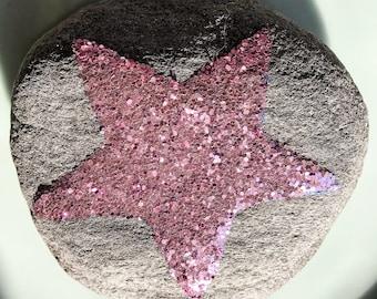 Glittery Super Star rock