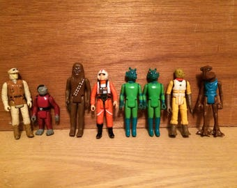 Another vintage awesome starwars action figures lot!