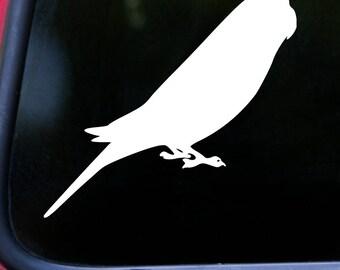 """BUDGIE 5"""" x 4.5"""" Vinyl Decal Sticker - Budgerigar Bird Parakeet Parrot *Free Shipping*"""