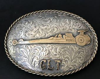1990's GLT Dragster Belt Buckle,by Diablo