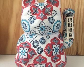 "Maneki-Neko personalized ""kimono"""