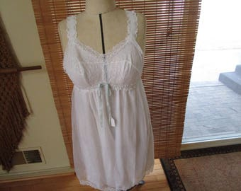 Vintage Nylon Women's Nightgown