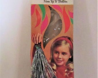 Vintage Doubl Glo Tree Drape, (Silver Icicles)