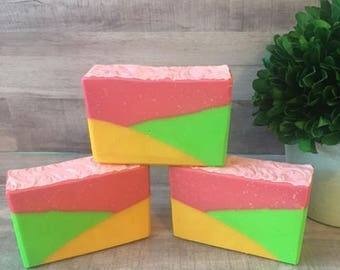 Apple & Mango Cold Process Handmade Soap
