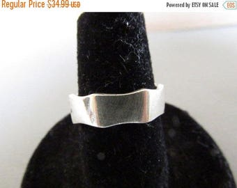 Vintage Ring, Sterling Silver Ring,  Marked FNA 925, Collectible Jewelry