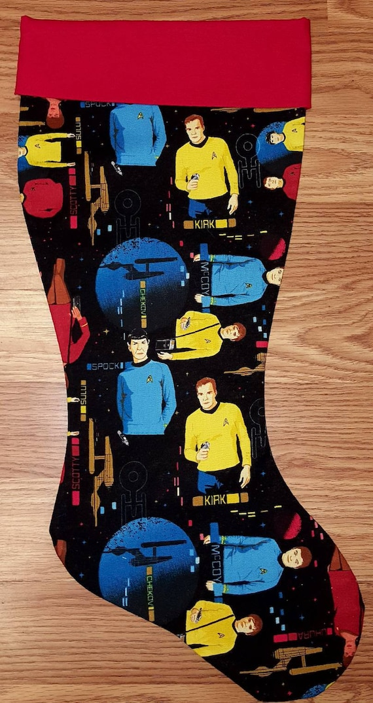 Star Trek Christmas Stocking