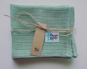 Mini Organic Muslin Squares | Baby Face Or Bum | Mums Makeup Removal | Fairtrade Cotton