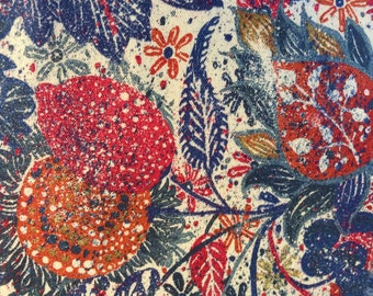LANTANA by LIBERTY 1.00 metre 80 cotton 20 wool HALCYON Days