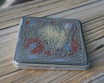Storage Tins, Party Favors, Stash Tins, Pill Tins - Square tin - two ounce - hinged - sq11hi