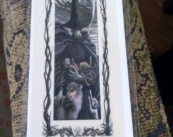 Wicked Bookmark With Quote