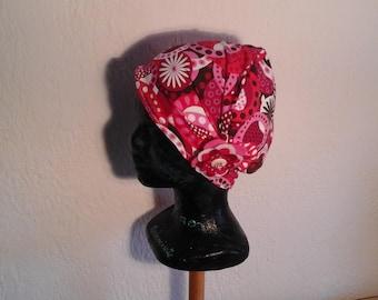 Children, reversible, repeating chemo hat, season, summer