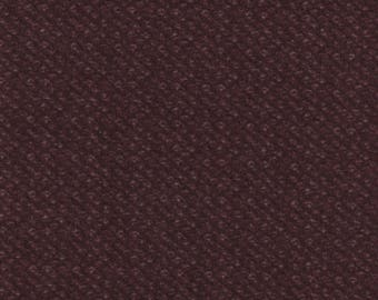 Maywood Woolies Dark Purple Nubby Tweed FLANNEL Fabric MASF-18507-V BTY