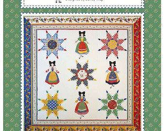 Lady Lorraine Quilt Pattern by Sandy Klop of American Jane Patterns