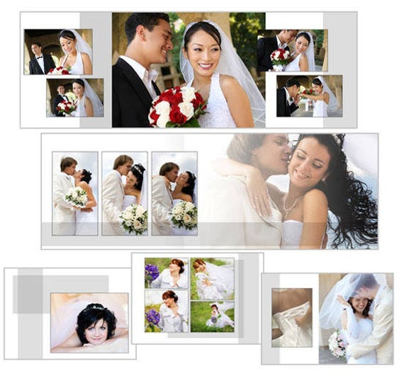 Wedding Album Design Software Digital Photography Free Download: 107 Wedding Album Templates