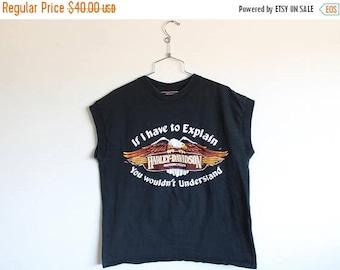ON SALE XLARGE Vintage 1990s Harley-Davidson Phoenix, Az Graphic Tank Top