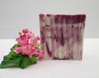 Black Raspberry Vanilla Soap, Handmade Soap, All Natural Soap, Artisan Soap, Homemade Soap