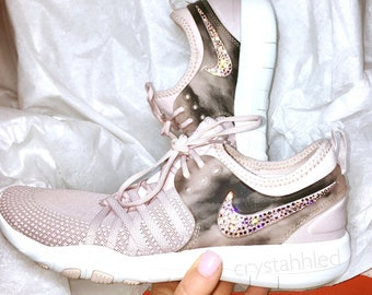 Nike Free TR 7 Amp - Bling - Perfect Gift - Nike Shoes - Crystahhled - Blinged Out - Nike Swarovski - Bling Nike Shoes - Gift for her- Nikes