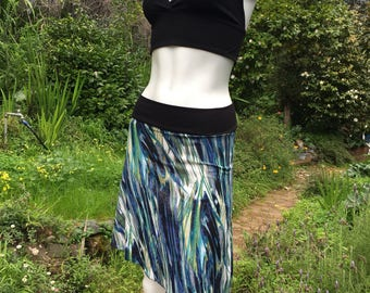 Blue waters skirt