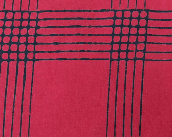 Plaid in Cherry- Chroma by Alison Glass- Andover Fabric