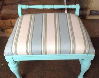 Repurposed Vanity stool