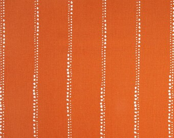 Kitchen Valance Curtains - Orange Window Valance - Kitchen Window Valance - 50x16 Valance - Window Treatments