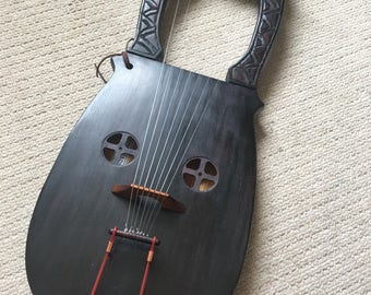 Kravik lyre 7 string Viking Lyre made of Spruce with hard case