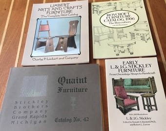 Four Arts and Crafts Movement reference books