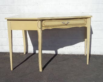 Corner Desk Writing Table French Provincial Hollywood Regency Set Vanity Shabby Chic Table Laptop Stand Kids Girls Room CUSTOM PAINT AVAIL