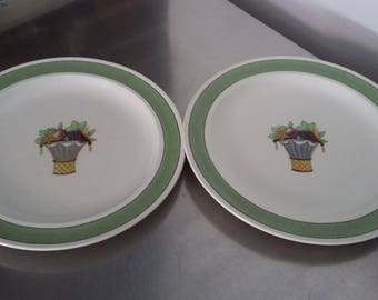 2 Two Wedgwood Etruria Directoire Dinner Plates