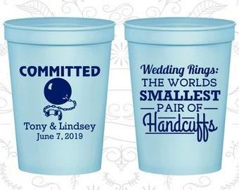Light Blue Stadium Cups, Light Blue Cups, Light Blue Party Cups, Light Blue Wedding Cups (500)
