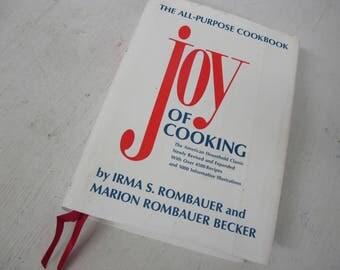 Joy of Cooking 1975 Irma Rombauer American Cookbook