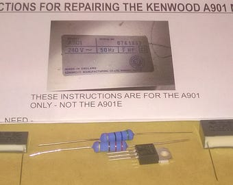 kenwood chef a901 manual download