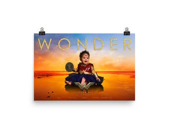 Wonder Baby Parody Poster