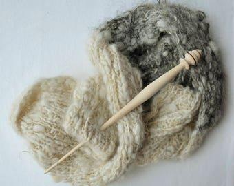 Handspun Chunky Scarf * 100% Icelandic Wool