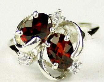 On Sale, 30% Off, Mozambique Garnet, 925 Sterling Silver Ladies Ring, SR016