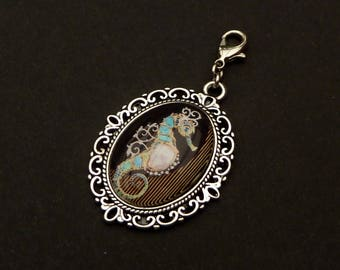 Pendant with seahorse jewelry pendant bag gift woman