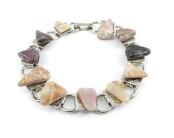 Vintage Semi Precious Stone Bracelet