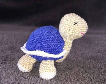 Cute little turtle crochet made by myself