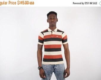 Closing SALE - 80s NIKE Orange Swoosh Golf Shirt - NIKE Orange Swoosh - Nike Men's Shirt  - 1551