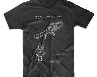 Toy Pop Gun Patent T Shirt, Vintage Toys, Toy Gun, Boys T Shirt, Boy Gift, PP0952