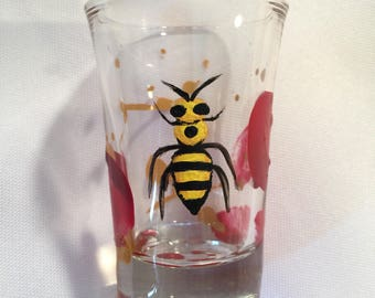 BEE BloodSpattered Shot Glass