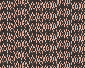 Yes Please - Xos Rose Gold by My Mind's Eye for Riley Blake, 1/2 yard, SC6552-Rose Gold