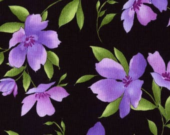 Catalina Ultra Violet Fabric by Maywood Studio's, 100% Premium Cotton Fabric by the Yard