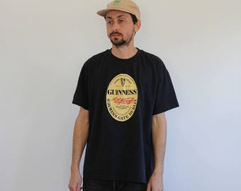 90s Guinness Beer Shirt Large