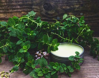 Oregano Salve, Oregano Balm, Medicinal Salve, Herbal Salve, Organic Salve, Skin Salve, Chicken Gift